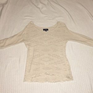 American Eagle low cut sweater